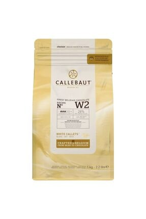 Callebaut W2 Beyaz Çikolata 1 kg 0