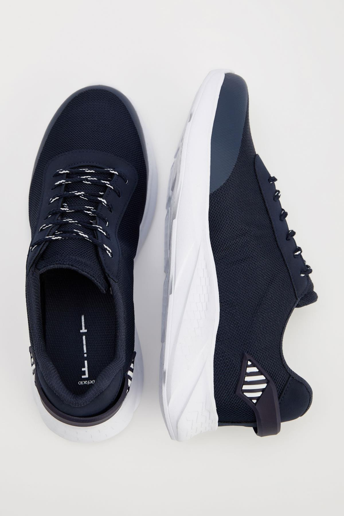 Defacto Erkek Lacivert Bağcıklı Spor Ayakkabı