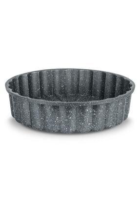 ThermoAD Granit Döküm Tart Kalıbı Turta Kek Kalıbı 26 Cm 1