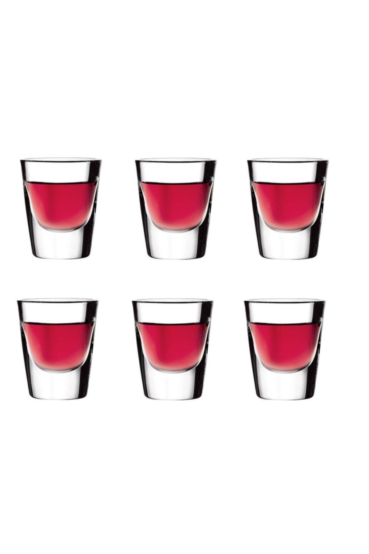 52144 Boston Shot Bardak 6lı - Tekila Bardağı