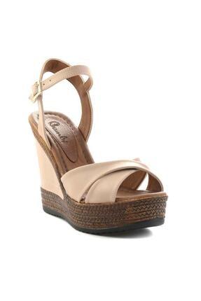 Bambi Nude Kadın Dolgu Topuklu Ayakkabı K05931070909 2