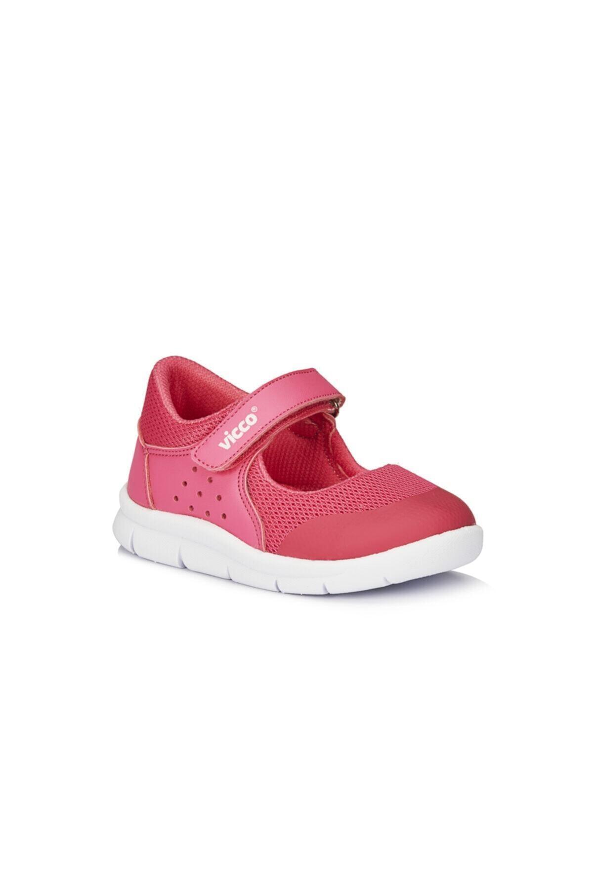 Fuşya Çocuk Ortopedik Babet Ayakkabı