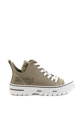 Bambi Haki Kadın Sneaker K01779000118 1