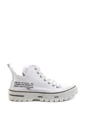 Bambi Beyaz Kadın Sneaker K01779000118 1