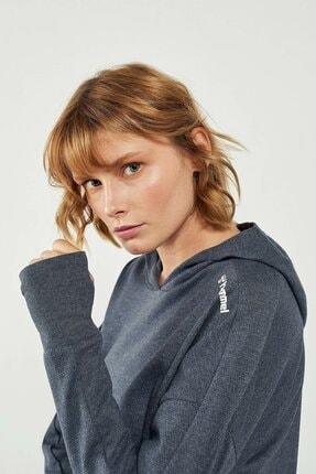 HUMMEL HMLGANG Lacivert Kadın Sweatshirt 101085910 3