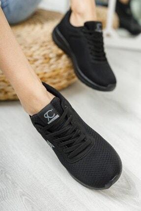 Riccon Unisex Siyah Siyah Sneaker 0012065 4