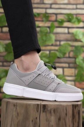 Riccon Erkek Buz Beyaz  Sneaker 00122023 0