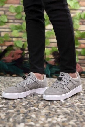 Riccon Erkek Buz Beyaz  Sneaker 00122023 2