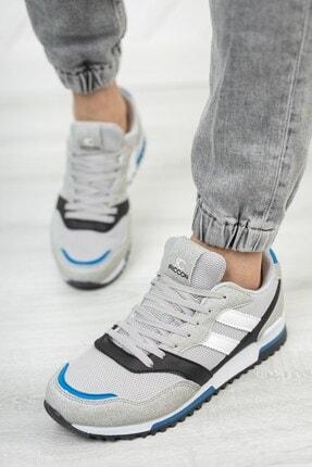 Riccon Unisex Gri Saks Sneaker 0012863 2