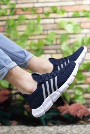 Riccon Unisex Lacivert Sneaker 0012370 4