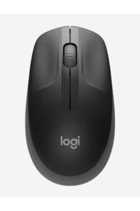 logitech Gri Büyük Boy Kablosuz Mouse Optik 1000 Dpı Buton 910-005905 M190 2