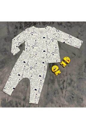 PİEROSBABY Pieros Baby 0004 Erkek Bebek 2'li Takım 2