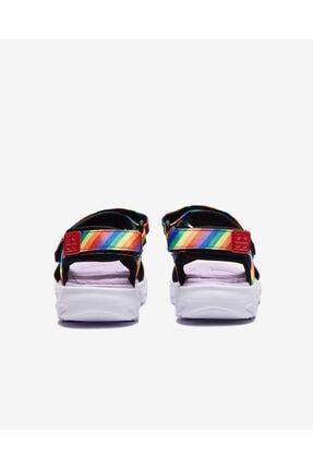Skechers Küçük Kız Çocuk Siyah Sandalet 4