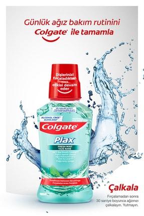 Colgate Natural Extracs Diş Macunu 75 ml x 2,  Zig Zag Orta Diş Fırçası, Plax Ağız Bakım Suyu 250 ml 2