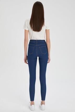 Defacto Kadın  Anna Super Skinny Fit Jean Pantolon 4