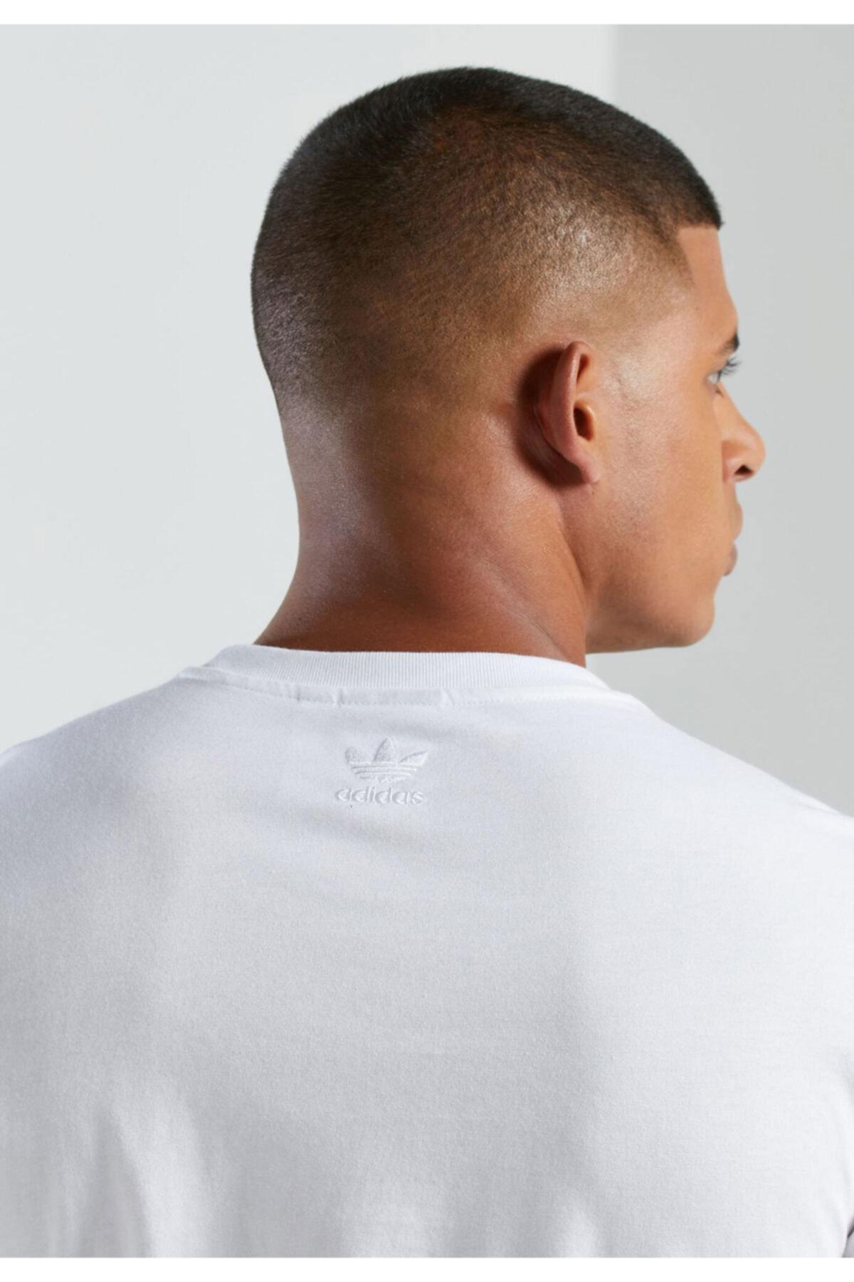 adidas Erkek Beyaz Tişört gp1971