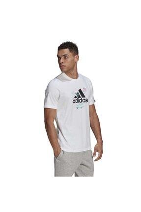 adidas Erkek M Crtn Logo T  T-Shirt 0