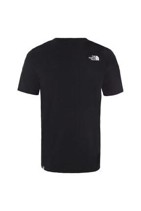The North Face M S/S WOODCUT DOME EU Siyah Erkek T-Shirt 100576740 1