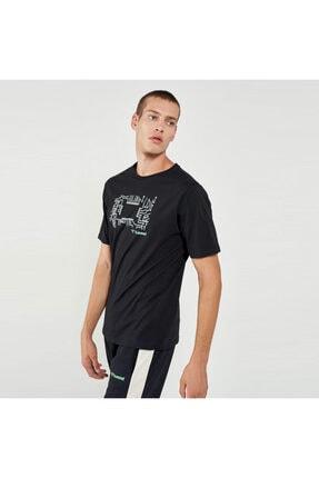 HUMMEL HMLWARGO Siyah Erkek T-Shirt 101085893 0