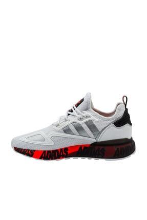 adidas Erkek Beyaz Bağcıklı Yürüyüş Ayakkabısı 1