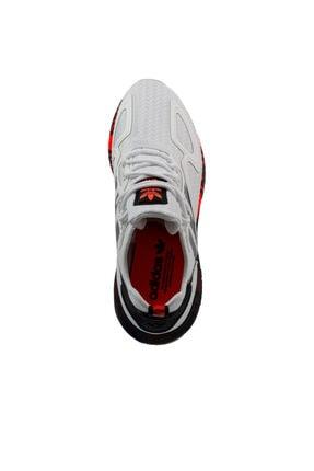 adidas Erkek Beyaz Bağcıklı Yürüyüş Ayakkabısı 2