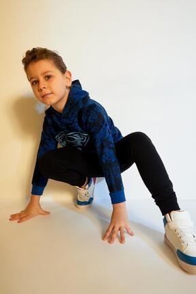 Defacto Erkek Çocuk Siyah Jogger Eşofman Altı 2