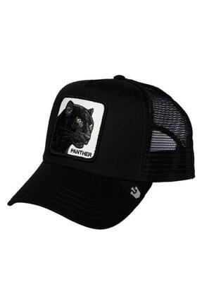 burberk Figürlü Panter Hayvan Model Şapka 0