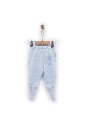 Picture of Erkek Bebek Mavi Çorap Pantolon