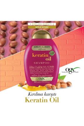 OGX Kırılma Karşıtı Keratin Oil Sülfatsız Şampuan 385 ml 2