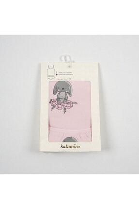 Bunbun Kız Çocuk Atlet Slip Takım Çamaşır resmi