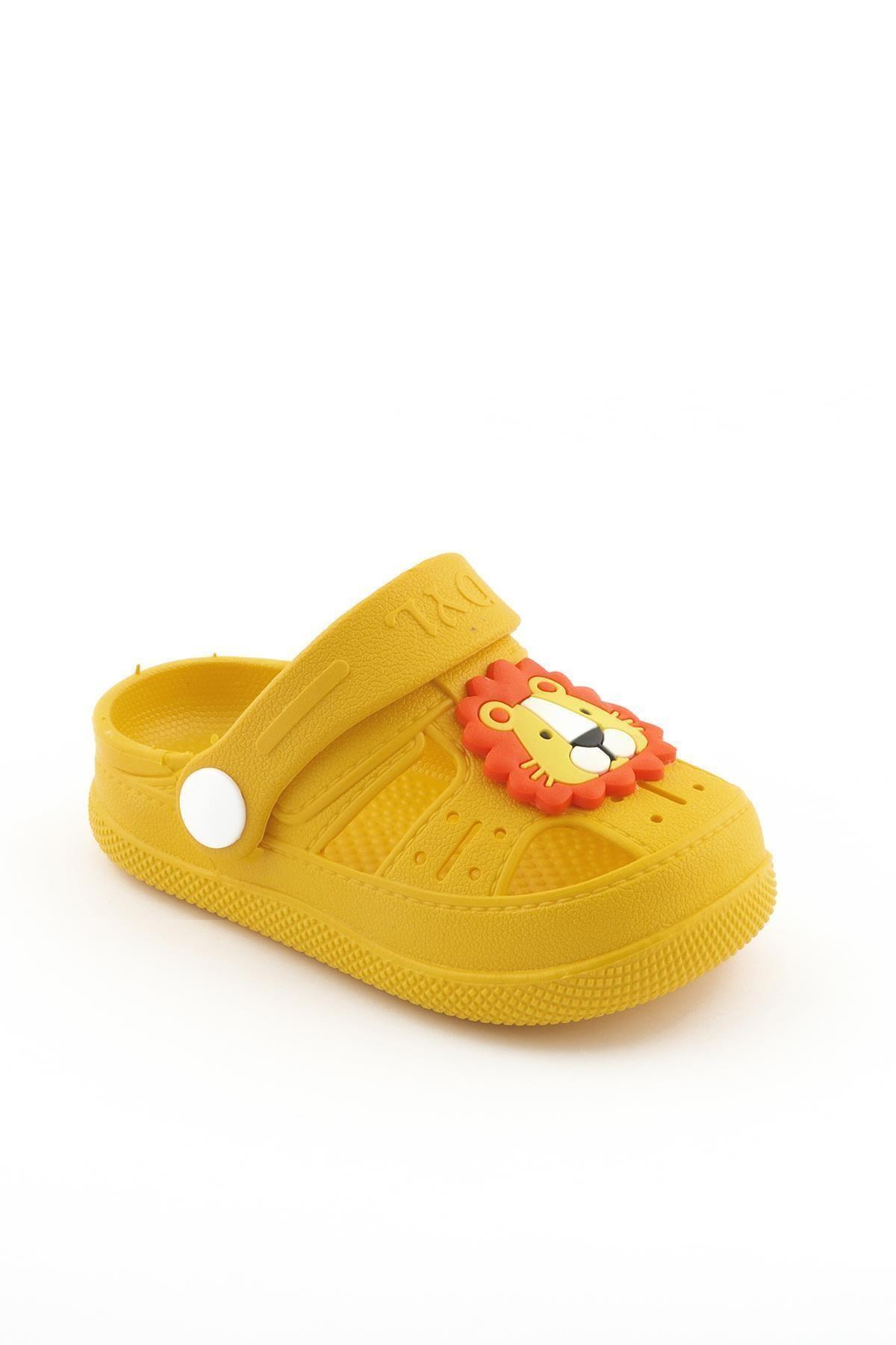 Da-ye Ortopedik Kaydırmaz Tabanlı Hayvan Figürlü Çocuk Sandalet Terlik