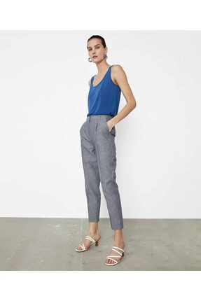 İpekyol Çizgili Pantolon 1
