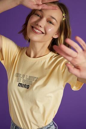 Defacto Coool Slogan Baskılı Pamuklu Relax Fit Kısa Kollu Tişört 2
