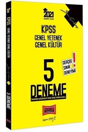 Yargı Yayınevi 2021 Kpss Genel Yetenek Genel Kültür Son Çıkış Tamamı Çözümlü 5 Deneme 0