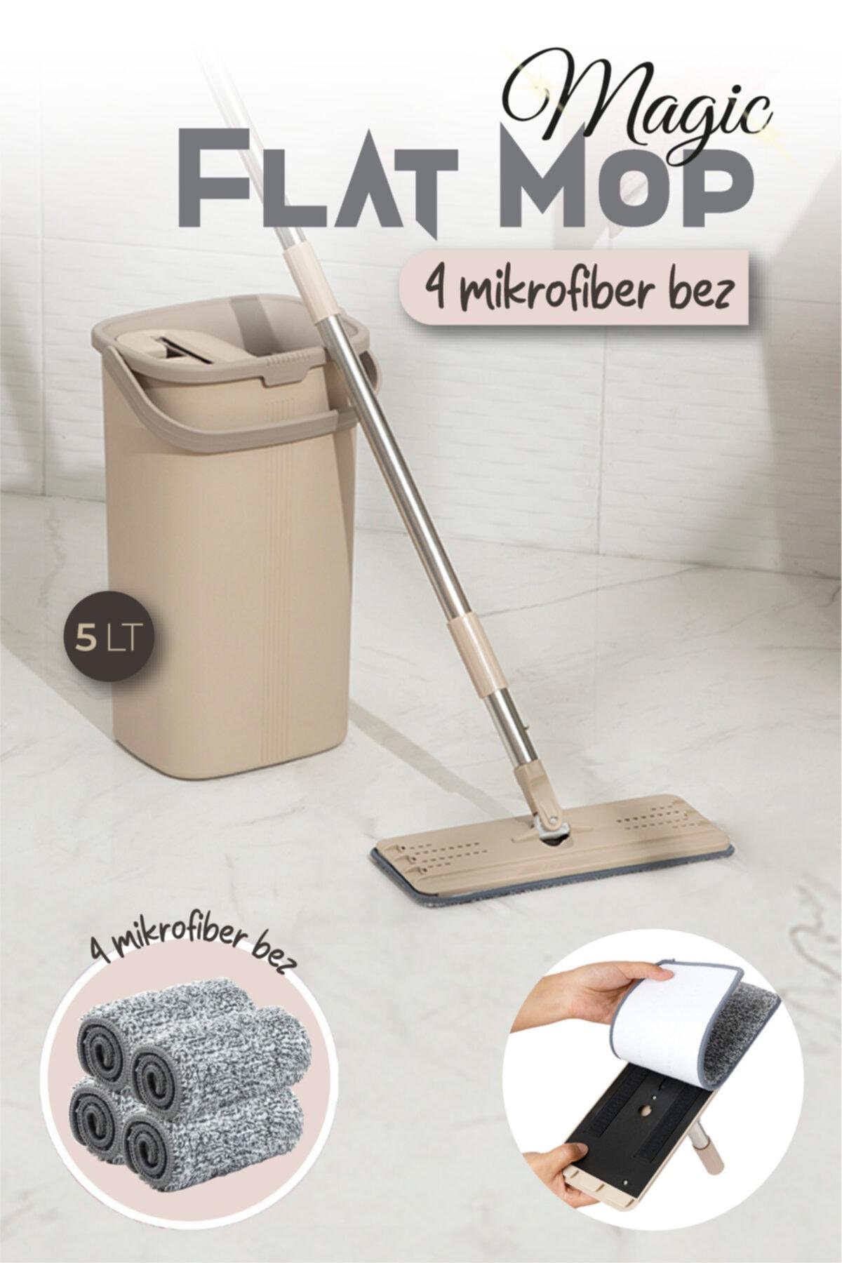 Magic Flat (Tablet) Mop Set 4 Microfiber Bez