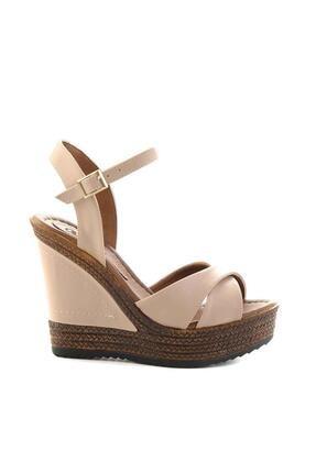 Bambi Nude Kadın Dolgu Topuklu Ayakkabı K05931070909 1