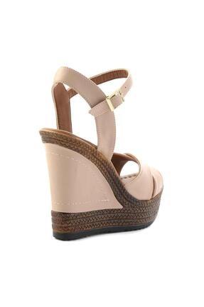 Bambi Nude Kadın Dolgu Topuklu Ayakkabı K05931070909 3