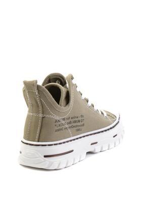 Bambi Haki Kadın Sneaker K01779000118 3