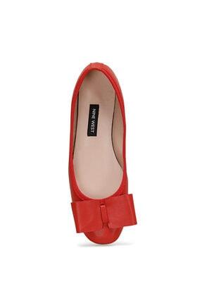 Nine West RIWA Kırmızı Kadın Babet 100572298 1