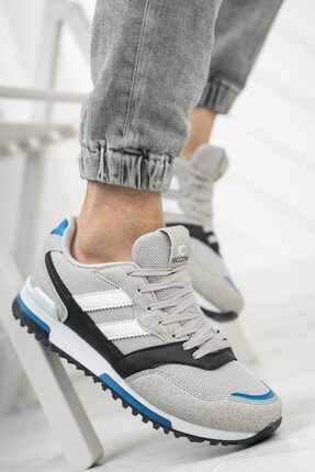 Riccon Unisex Gri Saks Sneaker 0012863 4