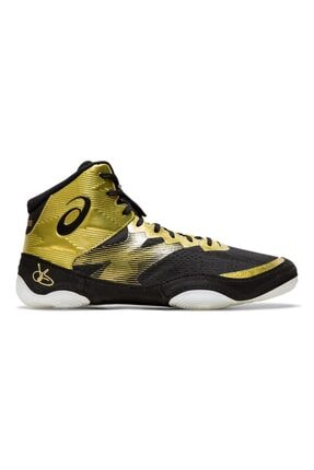 Erkek Altın Sarısı Siyah Güreş Ayakkabısı resmi