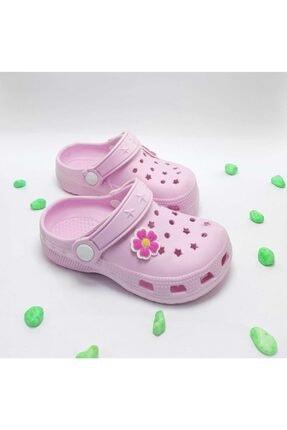 Calx Çocuk Pudra Sandalet Terlik 0