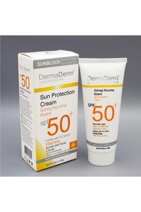 DermaDerm Spf 50+ Güneş Koruma Kremi 100 gr 0