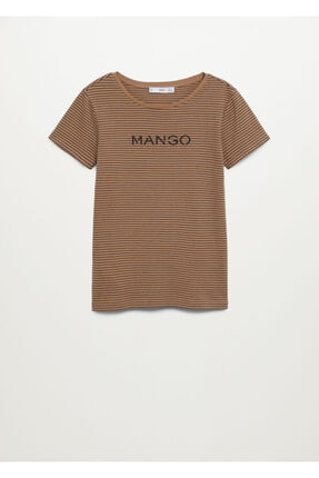 Mango Logolu Kısa Kollu Tişört 2