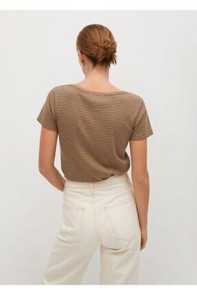 Mango Logolu Kısa Kollu Tişört 3