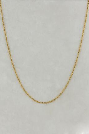 Başbuğ Mücevher 14 Ayar Altın Burgu Zincir Kolye 1