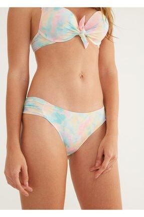 Suwen Kadın Yanı Pileli Bikini Alt 0