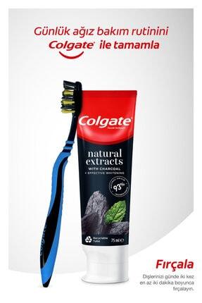 Colgate Natural Extracs Diş Macunu 75 ml x 2,  Zig Zag Orta Diş Fırçası, Plax Ağız Bakım Suyu 250 ml 1