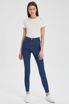Defacto Kadın  Anna Super Skinny Fit Jean Pantolon 2