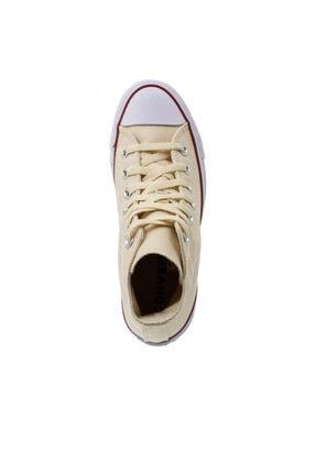 Converse Chuck Taylor All Star Kadın Krem Spor Ayakkabı (159484C.101) 2